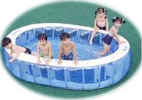 ご家庭で楽しくプール遊び